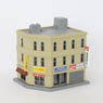 (Z) Z-Fookey Corner Shop Building B (1pc.) (Pre-colored Completed) (Model Train)