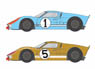 GT40 1966LM #1/5 Decal Set (Decal)