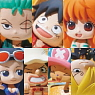 Ochatomo Series One Piece Pirates Tea Time (Set of 8) (PVC Figure)