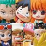 Ochatomo Series One Piece Pirates Tea Time 8 pieces (PVC Figure)
