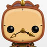 POP! - Disney Series: Beauty and the Beast - Cogsworth (Completed)