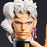 Super Figure Action [JoJo`s Bizarre Adventure] Part III 67.Kakyoin Noriaki Second (Hirohiko Araki Specify Color) (PVC Figure)