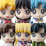 Petit Chara! Series Sailor Moon Petit School Life! 6 pieces (PVC Figure)