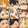 Haikyu!! Trading Acrylic Food Key Ring (Set of 14) (Anime Toy)