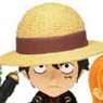 [more information] Anime Chara Heros One Piece the Movie Film Strong World 15 Pieces (PVC Figure)