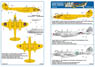 1/32 Gloster Meteor F4 [RAF `The Yellow Peril`,`Forever Amber`/RNLAF 323SQ/EAF 20SQ] (Decal)