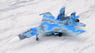 002. Su-27 Flanker (831st Tactical Aviation Brigade, Migorod Air Base, 2009) (完成品飛行機)
