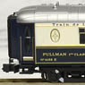 Orient Express Passenger Car Pullman 4158 [Displayed in Lalique Museum Hakone] (with Display UNITRACK 186mm) (Model Train)
