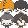 Koedaraizu Rubber Strap Haikyu!! 8 pieces (Anime Toy)