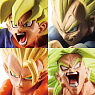 Dragon Ball Capsule R Episode Warriors of Legend Super Saiyan 7 pieces (PVC Figure)