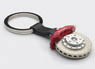 Brake disc key chain (6-POT/Red Caliper)