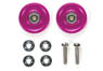 13mm All Aluminum Bearing Roller (Pink) (Mini 4WD)