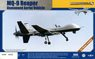 MQ-9 Reaper Unmanned Aerial Vehicle (2in1) (Plastic model)