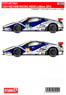 F458 RAM RACING #52/53 Le Mans 2014 (Decal)