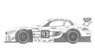 BMW Z4 `ROAL Motorsports` #43 Monza 2014 Decal (Decal)