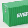 (Z) EVER GREEN 20f Marine Container (2pcs.) (Model Train)