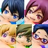 Free! Charapuka 2 6 pieces (PVC Figure)