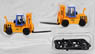 TCM Forklift FD115 (Japan Freight Railway Color) (Uni Carriers) (2pcs.) (Model Train)