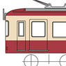 Fukushima Transportation Type 5000 (1st Gen.) Style Two Car Body Kit (2-Car Unassembled Kit) (Model Train)