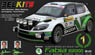 Belkits No.4 Skoda Fabia S2000 EVO (Model Car)