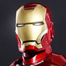 Movie Masterpiece Diecast - 1/6 Scale Fully Poseable Figure: Iron Man - Iron Man Mark 3 (Completed)