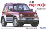 Mitsubishi Pajero Jr ZR-II w/Window Frame Masking (Model Car)