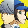Persona 4 the Golden A3 Clear Poster A (Anime Toy)