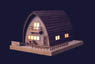 Akari Series No.3 Canadian House (Plastic model)
