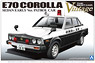E70 Corolla Sedan Early Type Patrol Car (Model Car)
