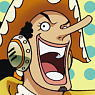 One Piece Usopp 15th anniversary Cleaner Cloth (Anime Toy)