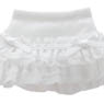 PNS Sugar Chiffon Frill Skirt (White) (Fashion Doll)