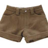 PNS Roll Up Short Pants (Beige) (Fashion Doll)