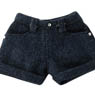 PNS Roll Up Short Pants (Blue Denim) (Fashion Doll)