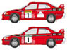 LANCER EVOLUTION VI 1999 Monte Carlo/New Zealand Decal Set (Decal)