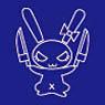 Schurzen iPhone Case fur iPhone5 Team Character Symbol Usagi-san ver. (Navy) (Anime Toy)