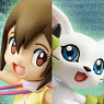 G.E.M. Series Digimon Adventure Yagami Hikari & Tailmon (PVC Figure)