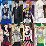 Black Butler Book of Circus Stone Paper Book Cover Collection 8 pieces (Anime Toy)