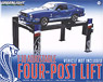 GreenLight 1:18 Four-Post Lift - Black with Ford Logo (ミニカー)