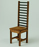 1/12 High Back Chair (Craft Kit) (Fashion Doll)