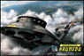 1/72 scale Flying Saucer - Haunebu Type (Plastic model)