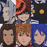 Kingdom Hearts HD 2.5 Remix Trading Rubber Strap 6 pieces (Anime Toy)