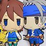 Final Fantasy Trading Rubber Strap 6 pieces (Anime Toy)