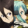 Sword Art Online II A3 Clear Poster (Anime Toy)