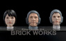 Mercenary force Male & Female Head Parts Space Specifications (Plastic model)