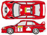 LANCER EVO VI 2000 Monte Carlo Decal Set (De...