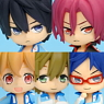 Free! Collection Figure 6 pieces (PVC Figure)