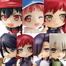 Toys Works Collection 2.5 Deluxe Hataraku Mao-sama! 8 pieces (PVC Figure)