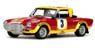 フィアット 124 アバルト ラリー #3 S.Barbasio/P.Sodano (East African Safari Rally 1974) (ミニカー)
