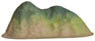 Diorama Material 017 Ready-to-Use Mountain (Model Train)