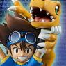 G.E.M. Series Digimon Adventure Yagami Taichi & Agumon (PVC Figure)